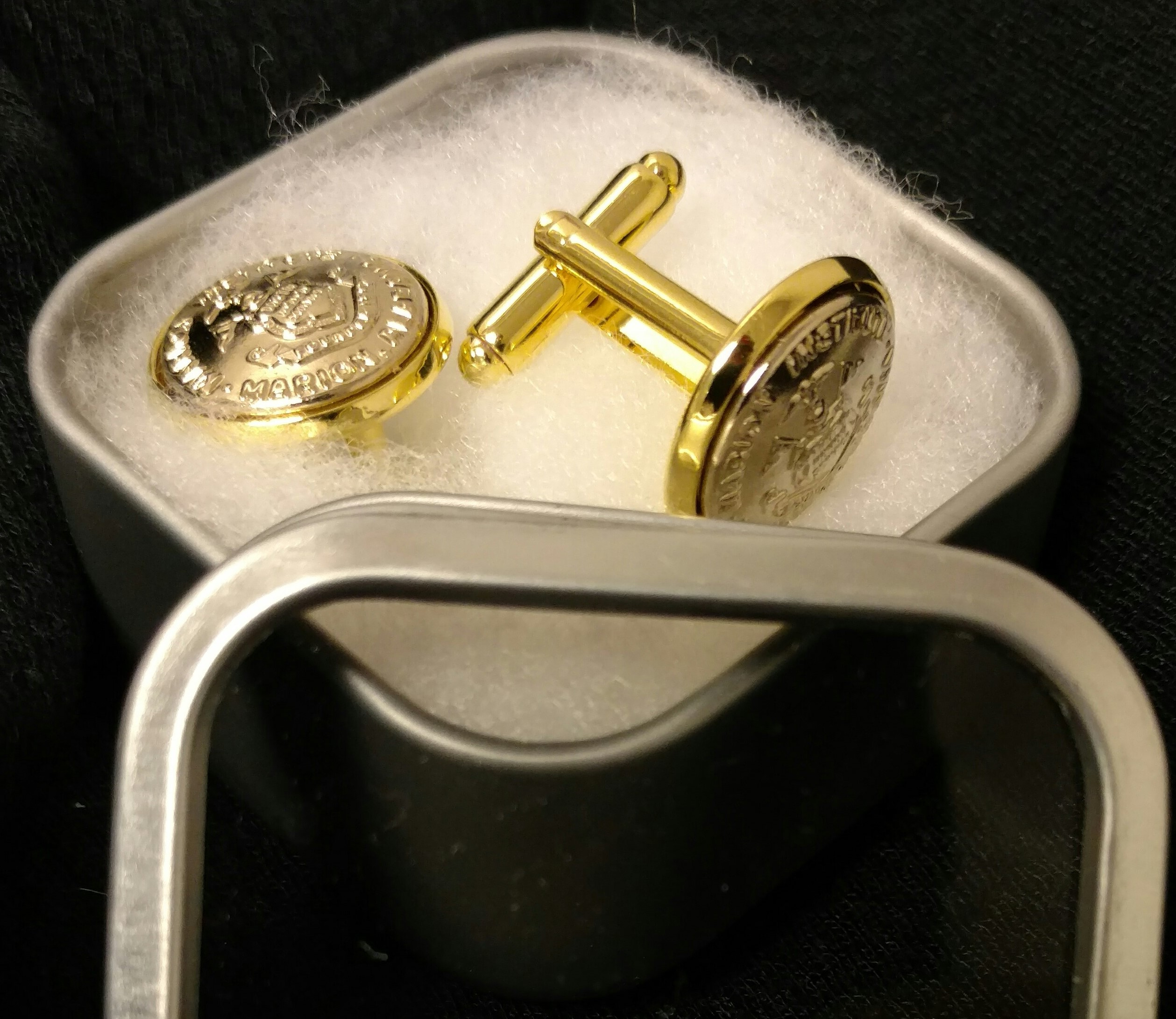 Image For MMI SMALL BUTTON CUFF LINKS