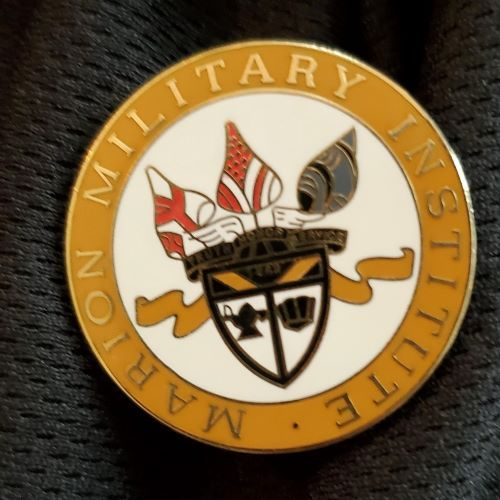 "Image For 1"" CREST LAPEL PIN"